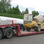 Перевозка бетоносмесителя FIORI