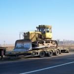 Перевозка гусеничного трактора Т170
