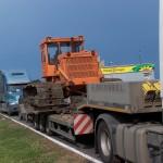 Перевозка гусеничного трактора ЧТЗ