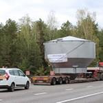 Перевозка емкости водонапорной башни ширина 6,5м