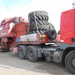 Перевозка зерноуборочного комбайна ЛИДА 1300 2шт