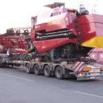 Перевозка зерноуборочного комбайна ПАЛЕСЬЕ GS5