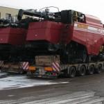 Перевозка зерноуборочного комбайна ПОЛЕСЬЕ GS12