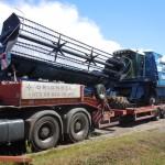 Перевозка зерноуборочного комбайна MDW 525 Erntemeister