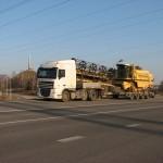 Перевозка зерноуборочного комбайна NEW HOLLAND TC56