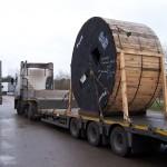 Перевозка катушки диаметром 3,5м