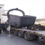 Перевозка ковша объемом 10м3