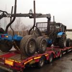 Перевозка лесозаготовительной техники МПТ-461