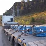 Перевозка металла в бухтах