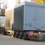 Перевозка модульного здания трансформаторной подстанции