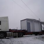 Перевозка модульного здания H=3,5м