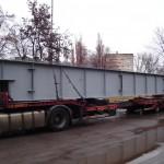 Перевозка мостовых балок в Могилев