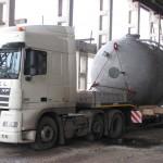 Перевозка оборудования для Беларусской АЭС фильтр