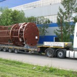 Перевозка оборудования для Беларусской АЭС