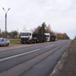Перевозка оборудования с автомобилем прикрытия и ДПС
