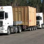 Перевозка оборудования HAAS