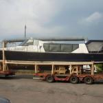 Перевозка прогулочного катера