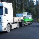 Перевозка промышленного оборудования с Финляндии