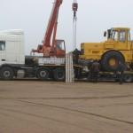 Перевозка трактора К700