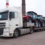 Перевозка тракторов МТЗ 1523