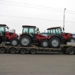 Перевозка тракторов МТЗ1523