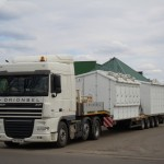 Перевозка трансформаторной подстанции