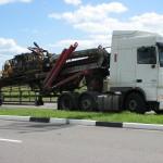 Транспортировка буровой установки